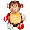 "Cubbies ""Huggles"" Harlequin Monkey THUMBNAIL"