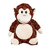 "Cubbies ""Huggles"" Monkey"