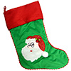 Cubbies Green Santa Stocking