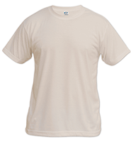 Sand Vapor Apparel Short Sleeve T-Shirt - Large MAIN