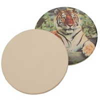 Sublimation Sandstone Coaster - Circle THUMBNAIL
