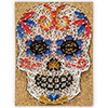 Pretty Twisted Senorita Sugar Skull String Art DIY Craft Kit