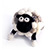 Woolbuddy Needle Felting Sheep Kit SWATCH