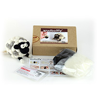 Woolbuddy Needle Felting Sheep Kit MAIN
