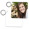 2-Sided FRP Square Keyring - Sublimation Blank