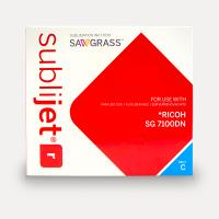 Sublijet Sublimation Ink Cyan Extended Cartridge Fits Ricoh SG7100DN THUMBNAIL