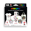 Permanent Thermal Heat Transfer Sublimation Markers - 10 pack THUMBNAIL