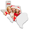 Sublimation Metal Texas State Ornament