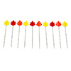 Tulip Momiji Cellulose-Head Pins