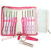 ETIMO Rose Cushion Grip Crochet Hook Set by Tulip THUMBNAIL