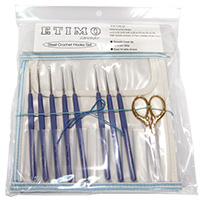 ETIMO Crochet Hook Set - Premium Gold by Tulip