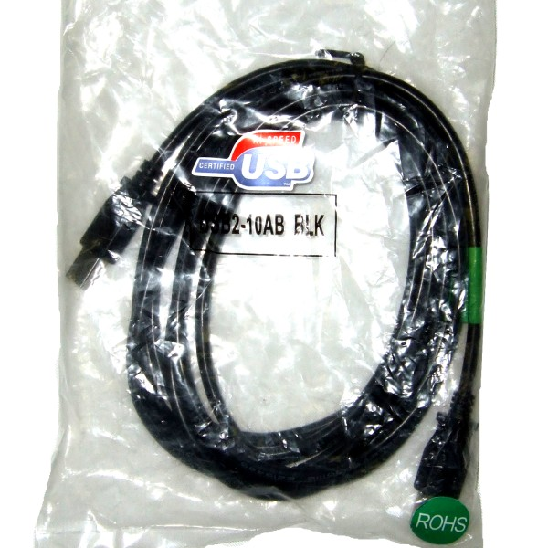 10 Foot USB Printer Cable THUMBNAIL