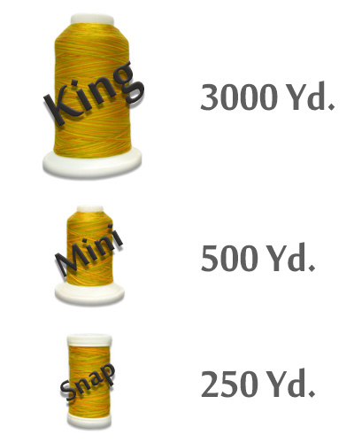 Ultra Cotton Sizes - King 3000 Yd., Mini 500 Yd., Snap 250 Yd.