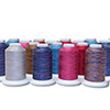 Ultra Cotton Quilting Thread by Iris - Variegated