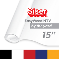 "Siser EasyWeed Heat Transfer Vinyl (HTV) - By the Yard 15"" THUMBNAIL"