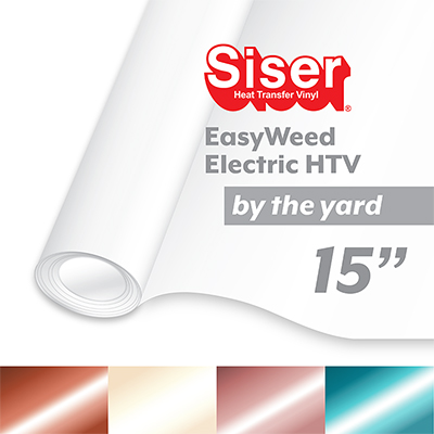 "Siser EasyWeed Electric Heat Transfer Vinyl (HTV) - By The Yard 15"" MAIN"