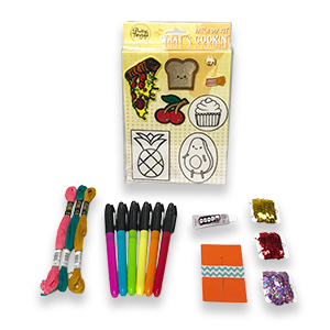 Pretty Twisted What's Cookin' Patch DIY Craft Kit MAIN