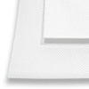 "20"" Laminated White Blank Patch Fabric - by the Yard - Sublimation Blanks"