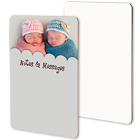 Dry Erase Message Board - Sublimation Blank