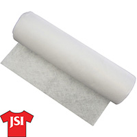 2.4 oz Cutaway Backing - White - 20 inches wide by 25 yards MAIN