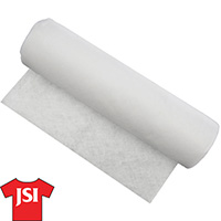 2.0 oz Tearaway Backing - White - 19 Inch by 25 Yard Roll