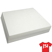 2.5 oz Premium Cutaway Backing - White - 16 inch by 18 inch 100 Count MAIN