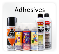 Temporary & Permanent Spray Adhesives
