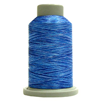 Marine 60146 Affinity Polyester Variegated 1000 yds Embroidery & Quilting Thread by Fil-Tec