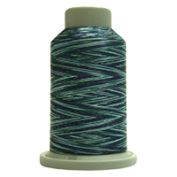 Mediterranean 60456 Affinity Polyester Variegated 1000 yds Embroidery & Quilting Thread by Fil-Tec MAIN