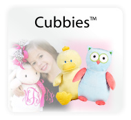 Cubbies - Embroiderable Stuffed Animals