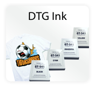 Direct to Garment Ink & Accessories