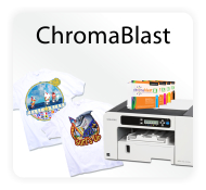 ChromaBlast Digital Cotton Garment Transfer Printing Systems