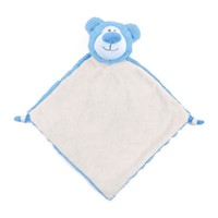 Cubbies Blue Cubbyford Bear Snuggle Buddy Embroiderable Blankie THUMBNAIL