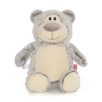 Cubbies Gray Cubbyford Bear Embroiderable Stuffed Animal THUMBNAIL