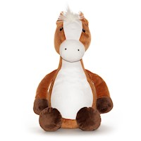 Cubbies Brown Penelope Horse Embroierable Stuffed Animal THUMBNAIL