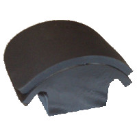3.5 by 6.5 Medium (Euro) Curved Cap Form for Geo Knight DK7, DK7T, & DC-CAP Heat Presses