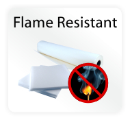 Flame Resistant Embroidery Backing / Stabilizer