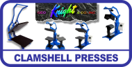 George Knight Clamshell Heat Presses