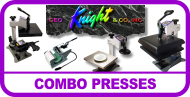 George Knight Combo Heat Presses DC16 DC16AP
