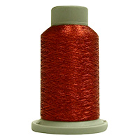 Cardinal 730 Yd Glisten Metallic Embroidery and Quilting Thread by Filtec Bobbin Central # 60085 MAIN