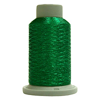 Jade 730 Yd Glisten Metallic Embroidery and Quilting Thread by Filtec Bobbin Central # 60086 MAIN