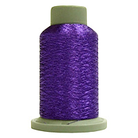 Magenta 730 Yd Glisten Metallic Embroidery and Quilting Thread by Filtec Bobbin Central # 60379 MAIN