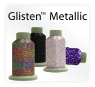 Glisten Metallic Machine Embroidery and Quilting Thread High Quality
