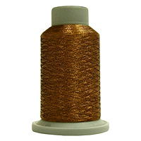 Pyramid 730 Yd Glisten Metallic Embroidery and Quilting Thread by Filtec Bobbin Central # 60093 MAIN