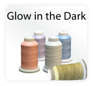 Glow In the Dark Polyester Thread