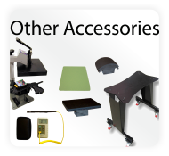 heat press options and accessories