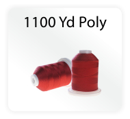 Iris Polyester Machine Embroidery Thread - 1100 Yds