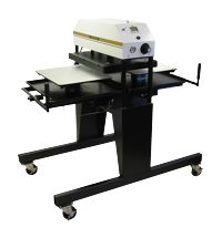 George Knight 394MTS Boss Air Operated 20x25 Twin Shuttle Heat Press MAIN