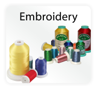 Polyester, Rayon, Variegated & Metallic Machine Embroidery Thread