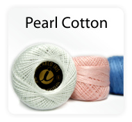 Pearl Cotton Thread Balls by Iris Size 8 – 83 yds Perle